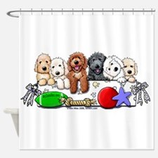 Cool Mcdoodles Shower Curtain
