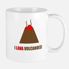 Funny volcanoes Mugs