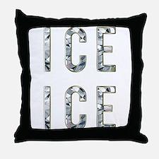 Ice Ice Baby Throw Pillow