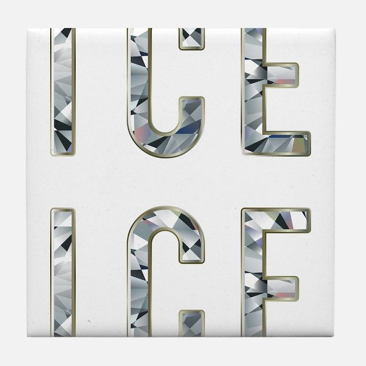 Ice Ice Baby Tile Coaster