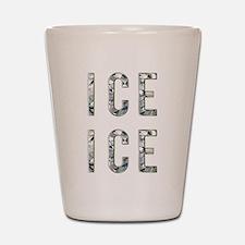 Ice Ice Baby Shot Glass