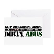 My Man In Dirty ABUs Greeting Card