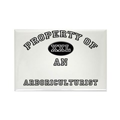 Property of an Arboriculturist Rectangle Magnet (1