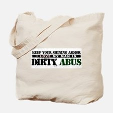 My Man In Dirty ABUs Tote Bag