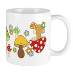 Magic Mushroom Art Ceramic Coffee Mug
