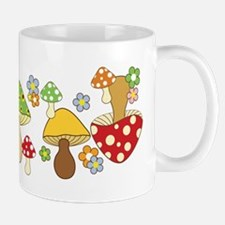 Magic Mushroom Art Ceramic Coffee Mug