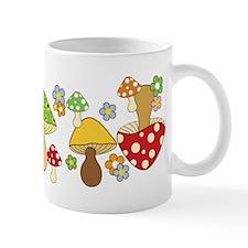 Magic Mushroom Art Ceramic Coffee Small Mug