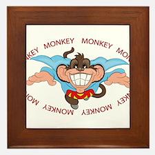 Supre Monkey Framed Tile