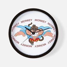 Supre Monkey Wall Clock