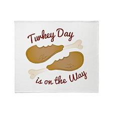 Turkey Day Throw Blanket