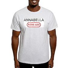 ANNABELLA kicks ass T-Shirt