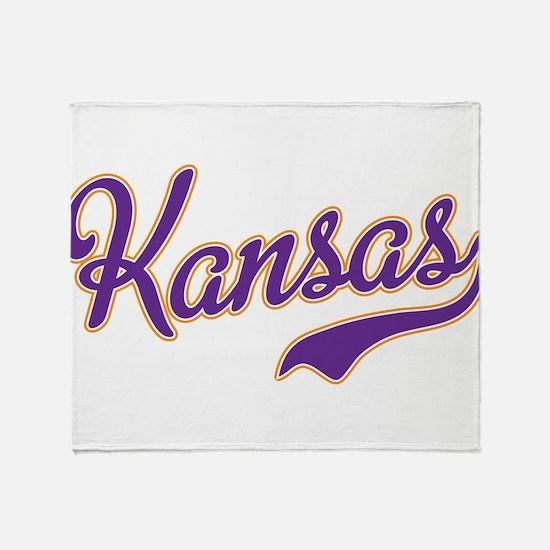 Kansas Throw Blanket