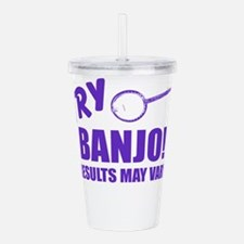 Try Banjo Acrylic Double-wall Tumbler
