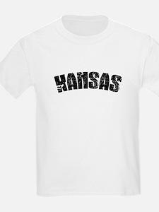Kansas Jersey Font T-Shirt