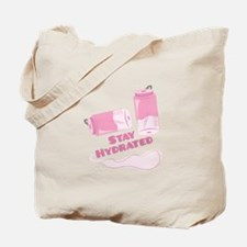 Stay Hudrated Tote Bag