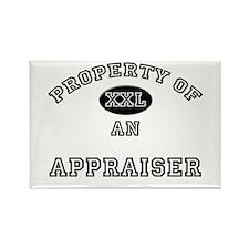 Property of an Appraiser Rectangle Magnet