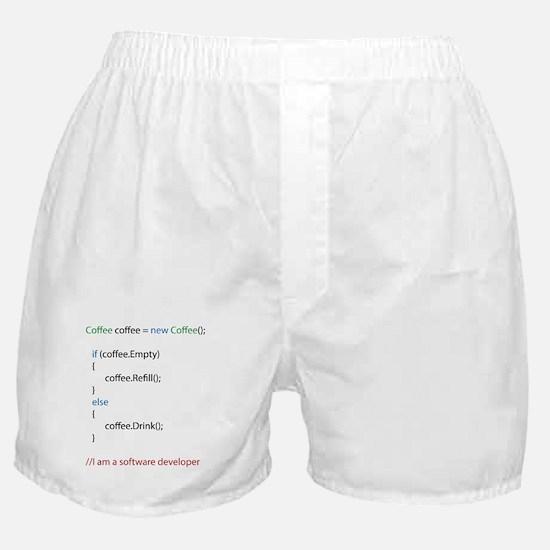 Everyone needs coffee Boxer Shorts