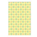 Orange & Lime Citrus Postcards (Package of 8)