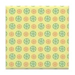 Orange & Lime Citrus Tile Drink Coaster