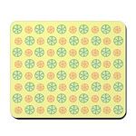 Orange & Lime Citrus Mousepad
