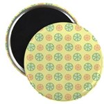 Orange & Lime Citrus Magnet