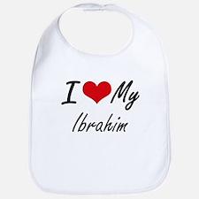 I Love My Ibrahim Bib