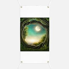 Magic Moon Tree Banner