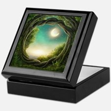 Magic Moon Tree Keepsake Box