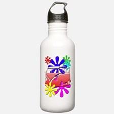 Cute Hippies Water Bottle