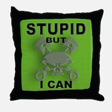 Funny Fix cars Throw Pillow