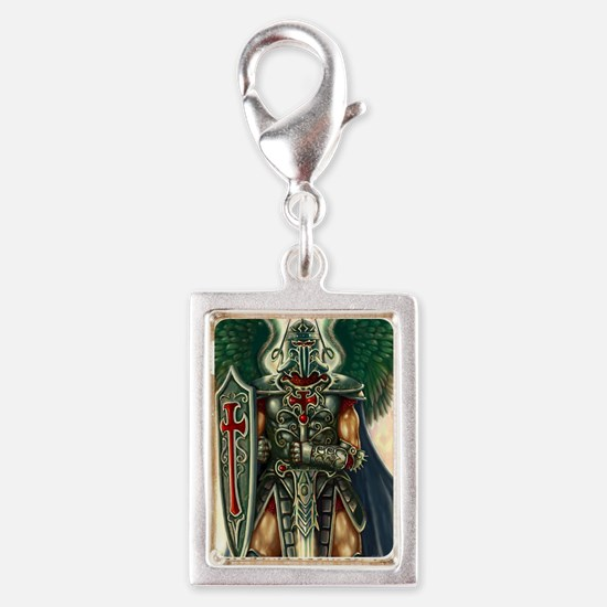 Cute Religion and beliefs Silver Portrait Charm