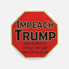 Impeach Trump Button