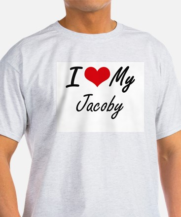 I Love My Jacoby T-Shirt