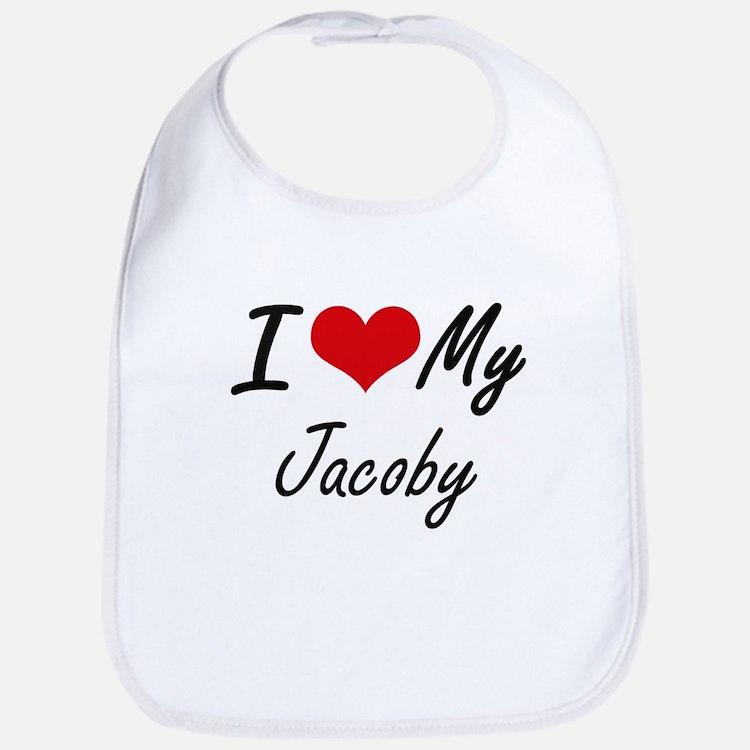 I Love My Jacoby Bib