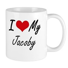 I Love My Jacoby Mugs