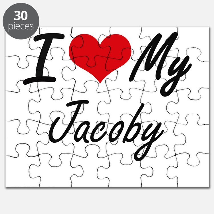 I Love My Jacoby Puzzle
