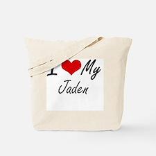 Unique Jaden Tote Bag