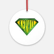 SuperKermit(Green) Ornament (Round)