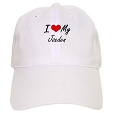 I Love My Jaeden Baseball Cap