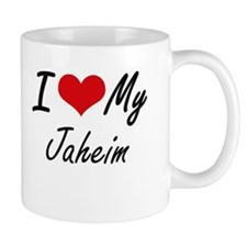 I Love My Jaheim Mugs