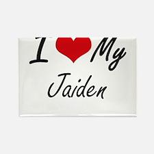 I Love My Jaiden Magnets