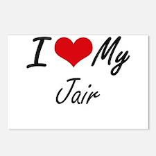 I Love My Jair Postcards (Package of 8)