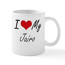 I Love My Jairo Mugs