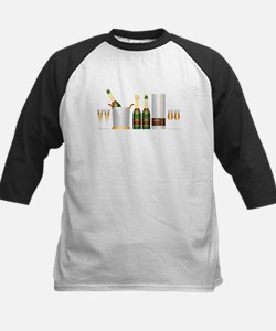 champagne bottle Baseball Jersey