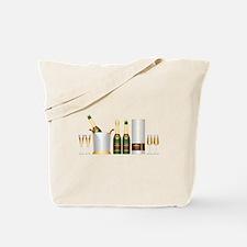 champagne bottle Tote Bag