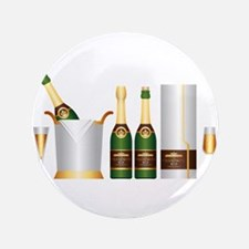 champagne bottle Button