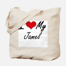 I Love My Jamel Tote Bag