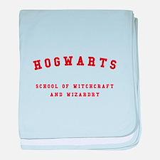 Hogwarts baby blanket