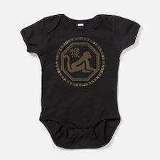 Chinese Zodiac Monkey Baby Bodysuit