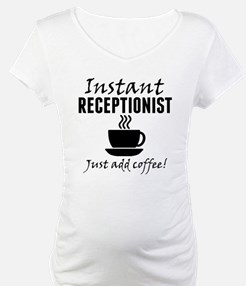 Instant Receptionist Just Add Coffee Shirt
